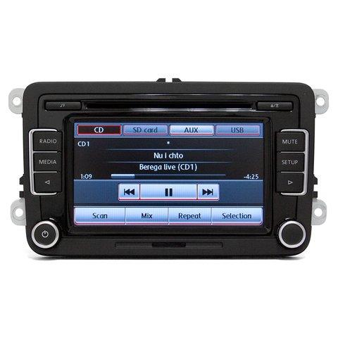 Головное устройство Volkswagen RCD510 Delphi 5ND 035 190A