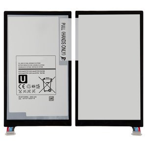 Battery EB-BT330FBU for Samsung T330 Galaxy Tab 4 8.0, T331 Galaxy Tab 4 8.0 3G, T335 Galaxy Tab 4 8.0 LTE Tablets, (Li-ion, 3.8 V, 4450 mAh)