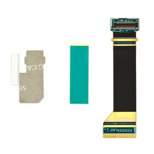 Flat Cable for Samsung F110 Cell Phone, (Original, for mainboard, with components) #GH97-08471A