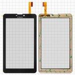 """Touchscreen Nomi C07001, C07002 HD Lyra, C07003, (7"""", 184 mm, 104 mm, 30 pin, capacitive, black) #YJ178FPC-V0/YTG-C70059-F1/CZY6948A01-FPC"""