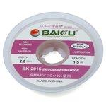 Desoldering Wick BAKU BK 2015, ((W) 2.0 mm, (L) 1.5 m)