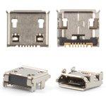 Conector de carga para celulares Samsung C3312, C3322, C3330, C3350, C3520, C3560, C3752, C3782, E2222, E2530, I9250 Galaxy Nexus, S3850 Corby II, S5300 Pocket, S5360 Galaxy Y, S5380 Wave Y, S5570 Galaxy Mini, S5610, S6102 Galaxy Y Duos, S6802, 7 pin, micro USB tipo-B