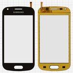 Сенсорный экран China-Samsung S7562, емкостный, черный, (118*59мм), (82*53мм), #XY-1065 2013