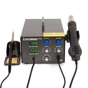 Термоповітряна паяльна станція Lukey 852D+FAN