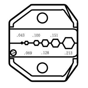 Матрица для кримпера Pro'sKit CP-336DV