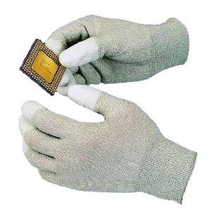 Антистатичні рукавиці з поліуретановими пальцями Goot WG-3L