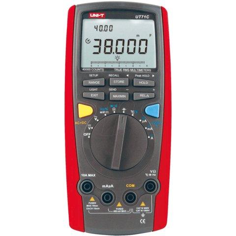 Цифровий мультиметр UNI T UTM 171C UT71C