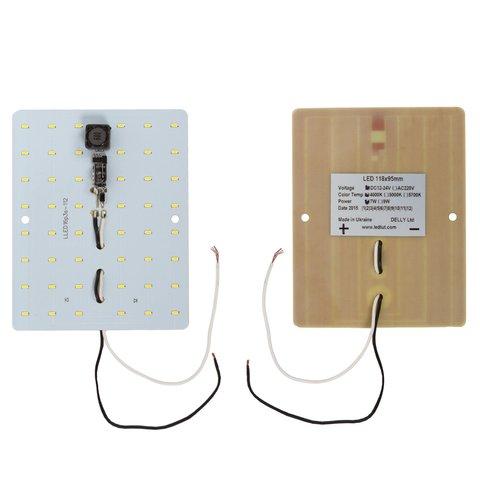 Модуль зі світлодіодами 118х95 мм 720 лм 7 Вт NW  4000 4500 K