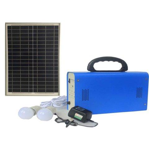 Портативна сонячна електростанція DC 30 Вт, 12 В 18 Аг, Poly 18 В 30 Вт