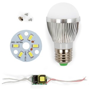 LED Light Bulb DIY Kit SQ-Q01 5730 3 W (cold white, E27)